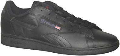 Reebok NPC UK Retro Shoes - Black/Graphite/Excellent Red - Mens - 8.5
