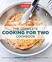 The Complete Cooking For Two Cookbook Front Cover