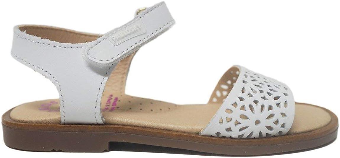 Sandalias para niño y niña Unisex Fabricadas en España Pablosky 479400 Olimpo Blanco - Color - Blanco, Talla - 35: Amazon.es: Zapatos y complementos