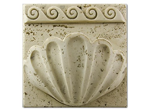 Lauderdale Tile Wave Hand Hold Bianco (WAV-BIA) by Lauderdale Tile