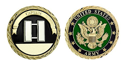 Army Captain Challenge Coin - Challenge Captain Coin
