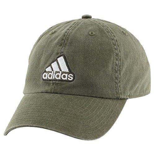 - adidas Men's Ultimate Relaxed Fit Cap, Earth Green/Black/Clear Grey, One Size