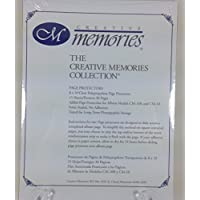 The Creative Memories Collection - 8 X 10 Page Protectors - Pack Of 15 Sheets - Protect A Complete Album Or Refill Pack!