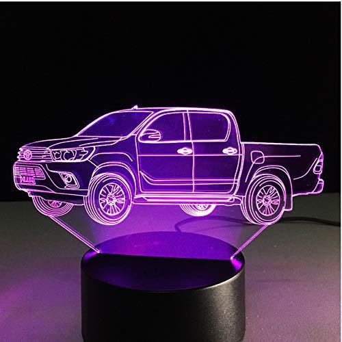 FUWUX Home 3D Acryl Nachtlicht Neue Kommende 3D LKW-Lampe Farbwechsel Farbwechsel Farbwechsel Nachtlicht Acryl Holida Geschenk B07MC3FNSB | Ausgezeichnete Leistung  1767d5