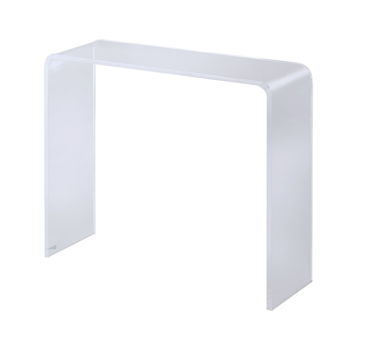 Terrific Amazon Com Foxhill Trading Pure Decor Acrylic Console 9 Spiritservingveterans Wood Chair Design Ideas Spiritservingveteransorg