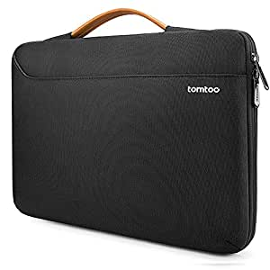 "tomtoc 360° Protective Laptop Sleeve Briefcase for 2018 New MacBook Air 13-inch with Retina Display | 13"" MacBook Pro Late 2016-2018 (A1989 A1706 A1708) 