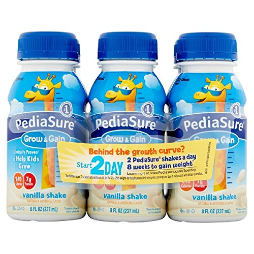 PediaSure Grow and Gain, Vanilla 6pk