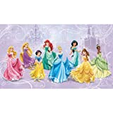 RoomMates JL1280M  Disney Princess Royal Debut Prepasted Mural 6-Feet  by 10.5-Feet, Ultra-Strippable