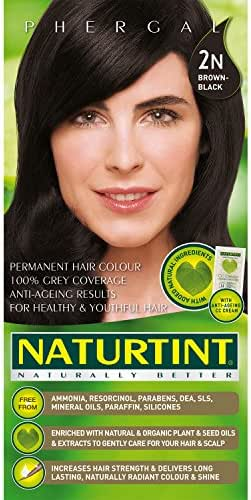 Naturtint Hair Color, Brown Black, 5.6 Ounce