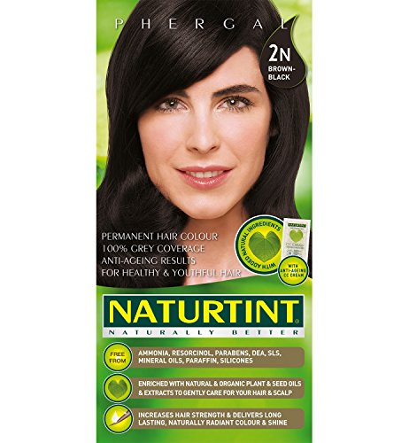 Hair Color Brown Black 2N - 5.28 oz - - Brown & Black
