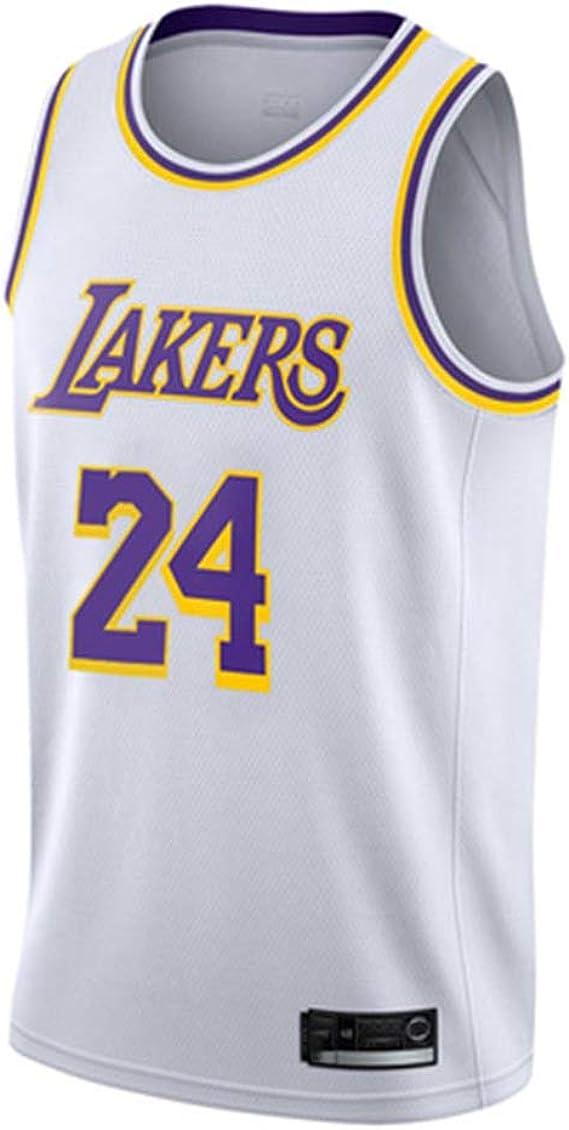 Kobe Bryant Jersey Uomini Lakers 24 Basket Jersey Nero Mamba Fan Unisex Basket Canotta Abbigliamento Training Suit S-XXL