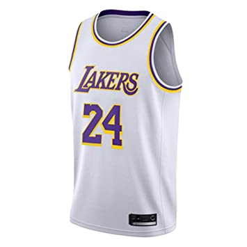 Hombre Mujer Ropa de Baloncesto NBA Lakers 24# Kobe Bryant Jersey ...
