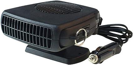 Achort Chauffage de voiture portable 12 V 150 W D/égivreur D/égivreur D/égivreur Allume Cigare Puissant Ventilateur de Voiture Chauffage Rapide Faible Bruit Rotation 360 degr/és pour Voiture Voiture