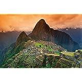 Machu Picchu photo wall paper – South America city of ruins – Machu Picchu mural – XXL poster wall decoration 82.7 Inch x 55 Inch