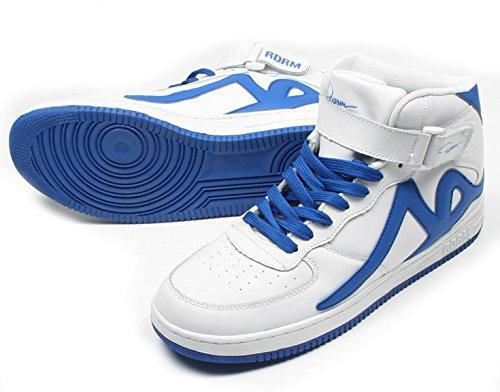 azul de Zapatillas Hombre REDRUM Para Blanco Piel 4Y0xpw