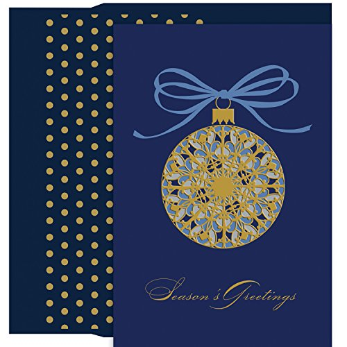 Masterpiece Studios Stationery (Masterpiece Studios Fancy Ornament Petite Boxed Holiday Cards, Set of 18)
