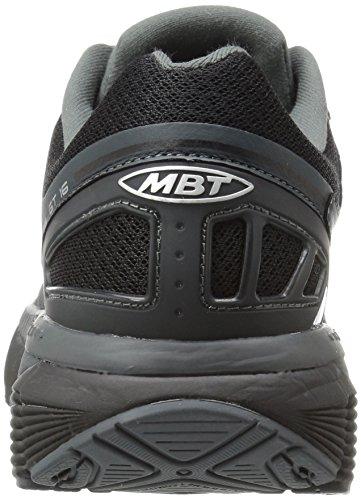 Mbt Womens Gt 16 Chaussure De Course Noir / Argent