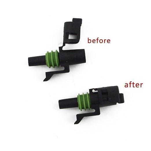 IMAGINE 10 Kit 1 Pin Way Waterproof Electrical Connector 1.5mm ... on plastic luggage tags, plastic strap click, plastic loop locks,
