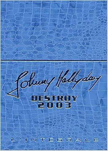 Destroy 2003 Coff Integrale Johnny Hallyday 9782840989530