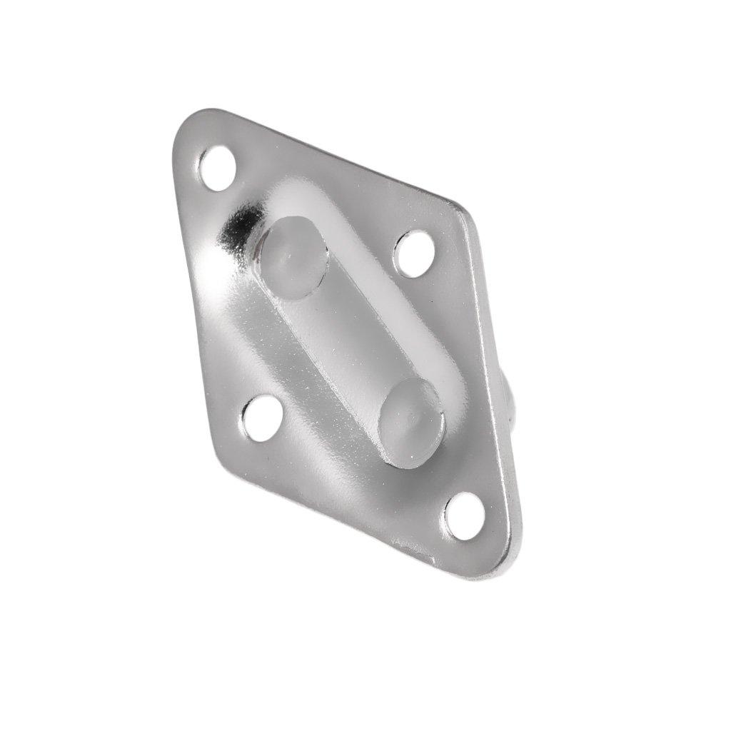 KESOTO Herrajes De Acero Inoxidable Marine Heavy Duty Diamond Pad Eye W//Loop