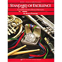 W21PR - Standard of Excellence Book 1 Drums and Mallet Percussion - Book Only (Standard of Excellence Comprehensive Band…