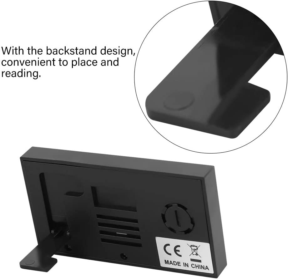 Durevole per Un Uso prolungato Jingyi Termometro Igrometro termometro LCD Digitale Portatile 0~50 ℃ 10/% RH ~ 99/% RH Igrometro termometro