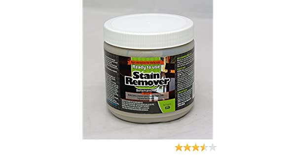 Amazon.com : Ready to Use Stain Remover for Granite & Other Natural Stone - Oil, Grease & Tannin Stain Poultice 1lb. : Pet Supplies