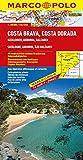 MARCO POLO Karte Costa Brava, Costa Dorada (MARCO POLO Karten 1:300000)