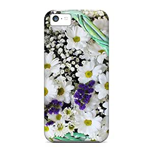 Hot CvN49264yPSs Cases Covers Protector For Iphone 5c- Subtle Bouquet