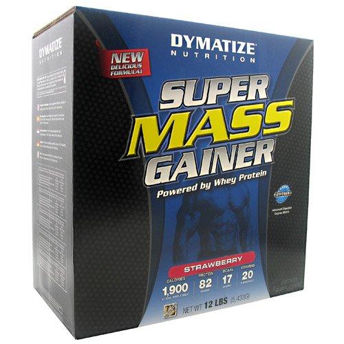 Dymatize Супер Mass Gainer Клубника - 12 фунтов (5,433G)