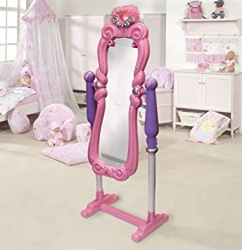 kinderspiegel kinder spiegel frisierspiegel mit licht zubehar 97cm unzerbrechlich