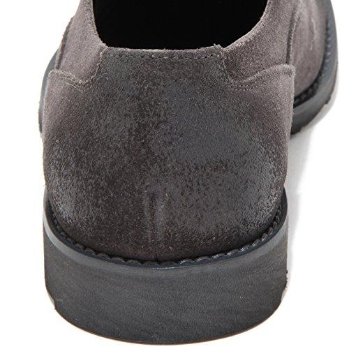 90490 scarpa allacciata DOLCE&GABBANA D&G francesina uomo shoes men Grigio