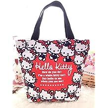 CJB Sanrio Hello Kitty Lovely Multipurpose Lunch Bag (KT head)