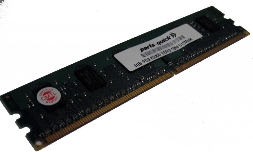 parts-quick 4Gb Memory For Asus Rampage Iii Black Edition Ddr3-8500 Non Ecc Dimm Ram (Parts-Quick Brand)