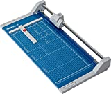 Dahle 552 Professional Rolling Trimmer, 20'' Cut Length, 20 Sheet Capacity, Self-Sharpening, Automatic Clamp, German Engineered Cutter