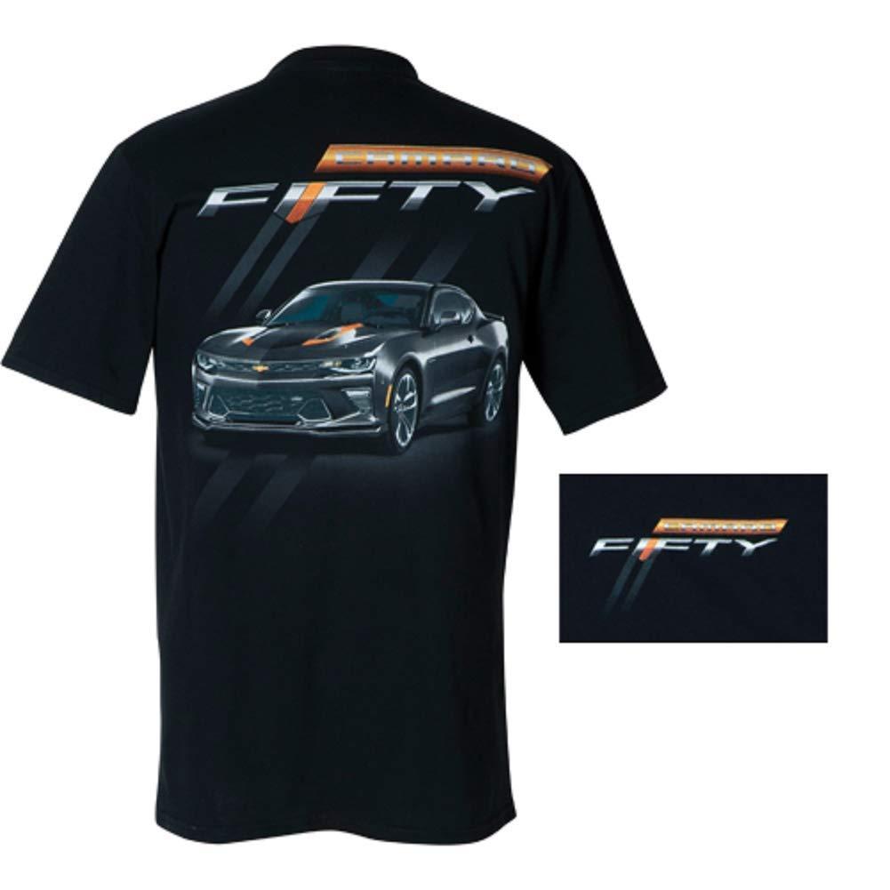 Camaro Fiftieth Anniversary T-Shirt / Black (Large)