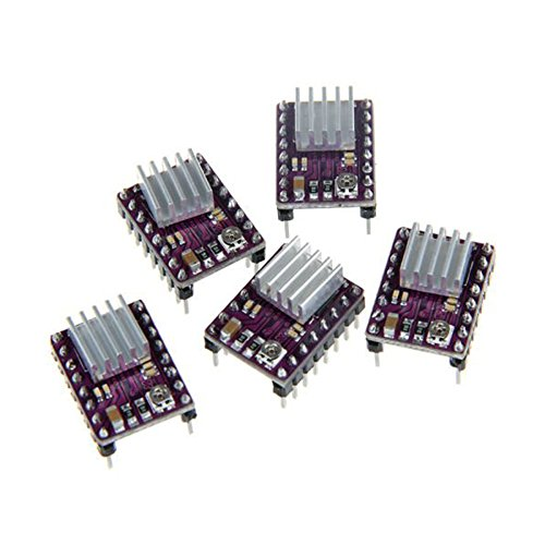 Hrph 5pcs DRV8825 Stepper Motor Driver Module for 3D Printer Reprap RP A4988 46232
