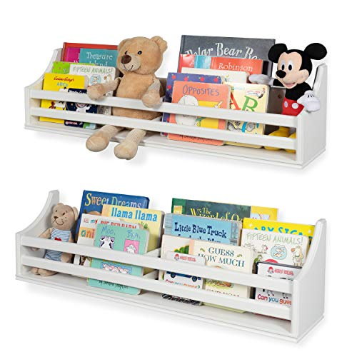 - Childrens Wood Wall Mounted Floating Shelf 30