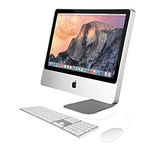 Apple iMac MC015LL/A All-in-One Desktop Computer (Education Version) - 20in Widescreen Display, Intel Core 2 Duo 2.0GHz (Renewed) (Apple Desktop Version New)