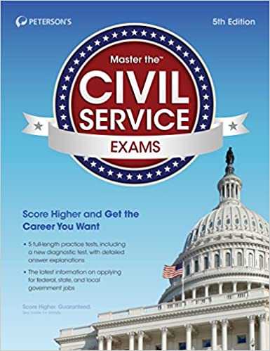 Master The Civil Service Exams Peterson S 9780768937664