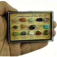 """Pomcat 15 """"Piedras Preciosas del Mundo pulidas Pequeñas"""
