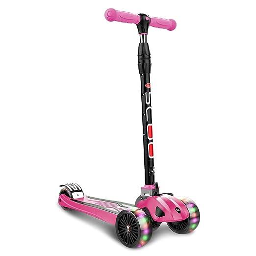 WYQ Scooter Freestyle Niños De 2 A 16 Años, Patinete 3 ...