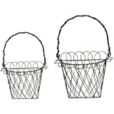 Ohio Wholesale Wire Wall Basket, Set of 2, from our Garden Collection (Discontinued by Manufacturer)