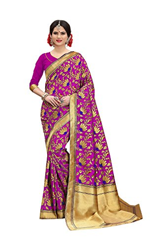 Dessa Collections Indian Sarees for Women Wedding Designer Party Wear Traditional Pink Sari. by Dessa Collections