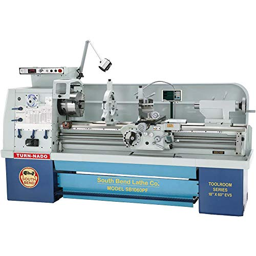 (South Bend SB1060PF EVS Lathe with DRO, 18-Inch by 60-Inch)