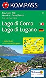 Kompass Karten, Lago di Como, Lago di Lugano (KOMPASS-Wanderkarten, Band 91)