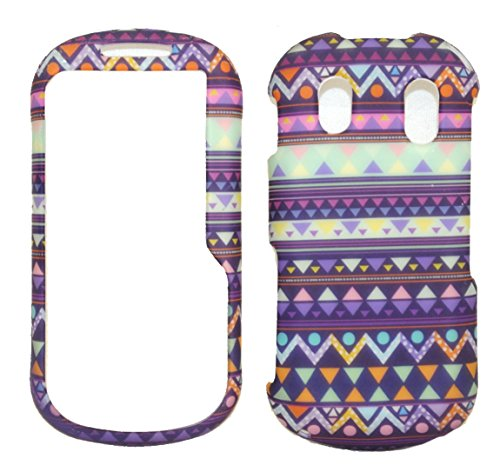 - Stylish Tribal Design Rubberized Snap on Hard Protective Cover Case for Samsung Intensity 2 U460