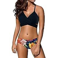 Women's sexy Low waist Bandage Bikini beachwear swimsuit