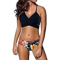ZD Z-DEAR THE BEST LOVE Women's Sexy Low Waist Bandage Bikini Beachwear Swimsuit