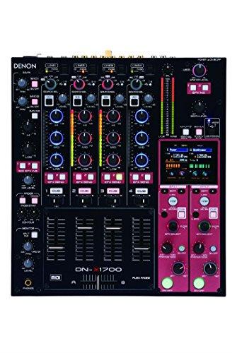 Denon DJ DNX-1700 | Professional 4-Channel Digital DJ Mixer ()